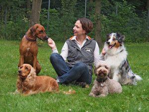 Dr. Sandra Bruns - Hundeschule Bruns - Foto: Anett Seidensticker